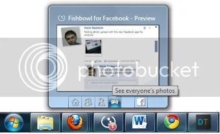 aplikasi desktop untuk facebook, fishbowl