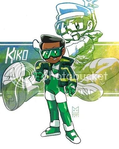 Kiko Combo Ranger Verde vers