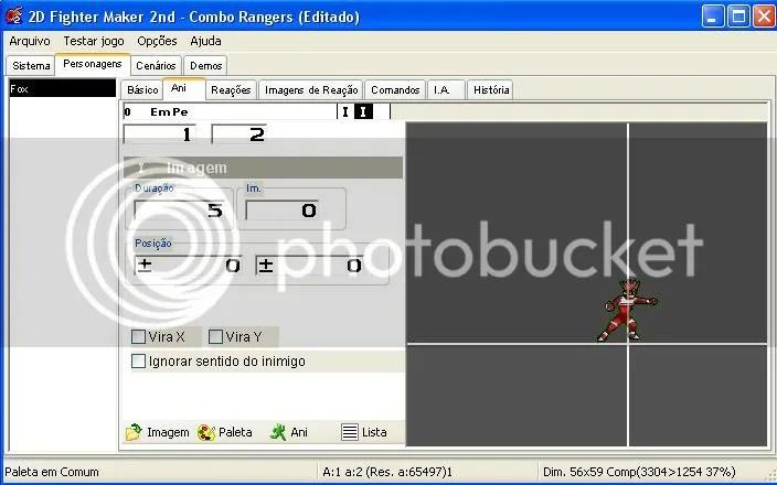 combo rangers 2D Fighter Maker 2nd