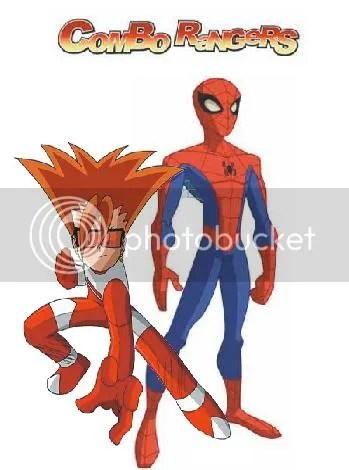 Combo Ranger e Homen aranha