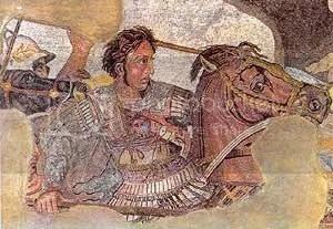 You are Bucephalus, who could only be tamed by Alexander the Great. After he died he founded a city in your honour.