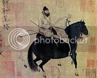 Han Gan, Walking the Horse