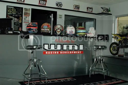 The WMI showroom
