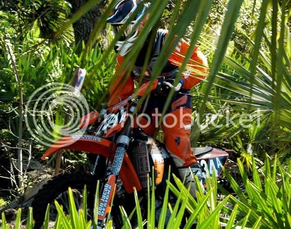 J-RO on the Ben Jacob Designs KTM