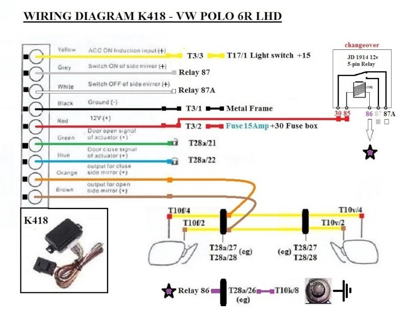 polo central locking wiring diagram trusted wiring diagrams rh hamze co