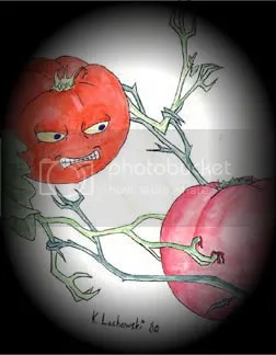 Fighting Tomatoes