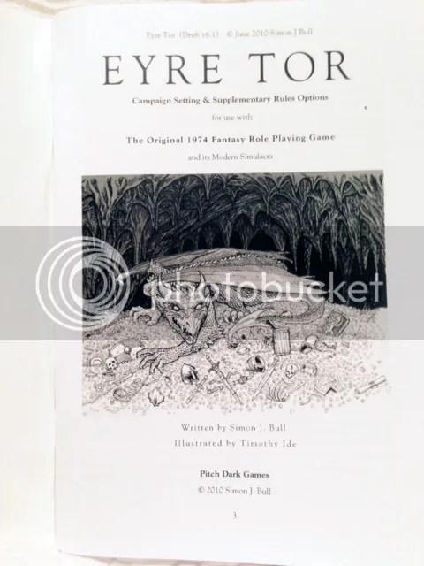 Eyre Tor Inside Cover