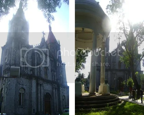 the exquisite molo church early in the morning