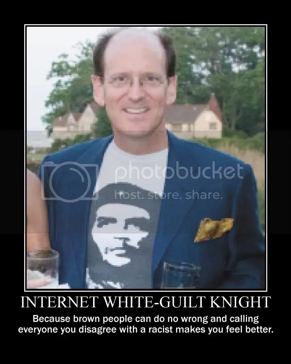 Internet White-Guilt Knight