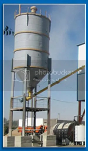 Concrete Batching Plant - Silo Tower
