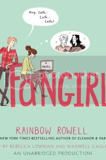 Audiobook Review – Fangirl by Rainbow Rowell