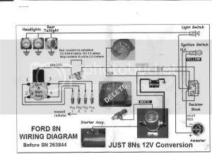 Wiring Diagram For 8n Conversion Photo by calvinhobbes | Photobucket