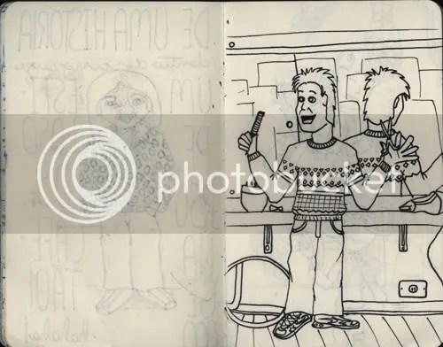 Desenho Cabeleireiro