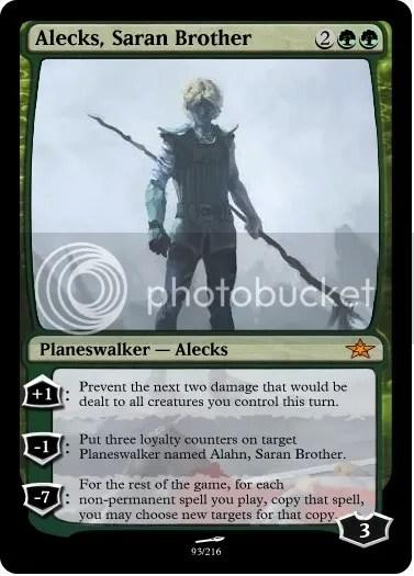Alecks, Saran Brother