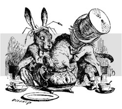 The March Hare, The Dormouse, and The Mad Hatter Pictures, Images and Photos