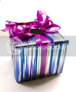 Prefiro o meu presente com embrulho e fita! Mto mais saudável.