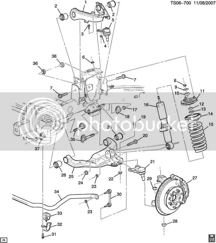 2005 Chevy Equinox Camshaft Sensor