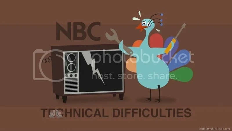 NBC technical difficulties