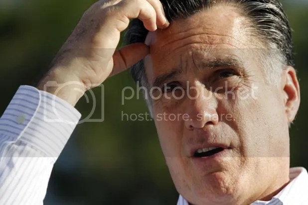 Romney confused