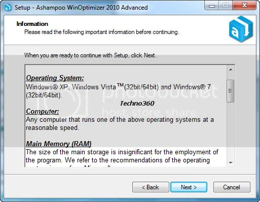 ashampoo winoptimizer free 64 bit