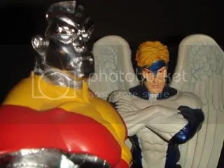 angel and colossus bust from bowen designs