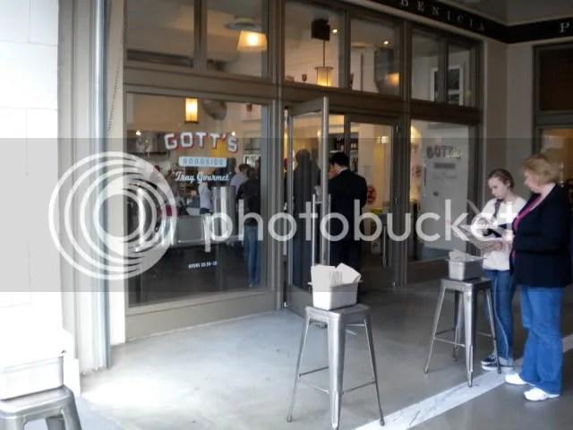 Gott's front entrance