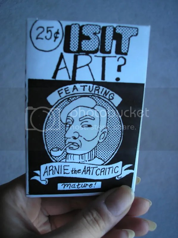 Arnie the Art Critic Mini-Comic