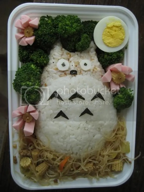 This Totoro looks really surprised...