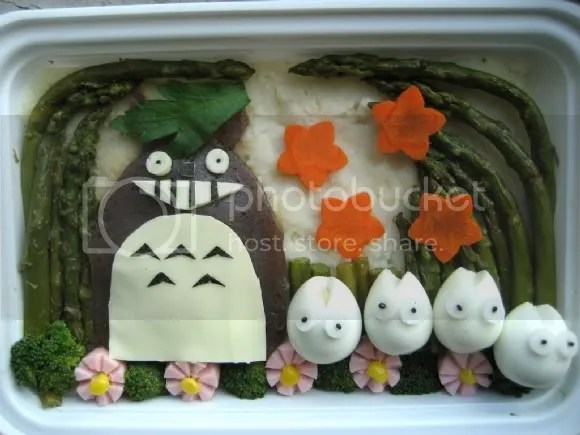 Totoro in a Forest!