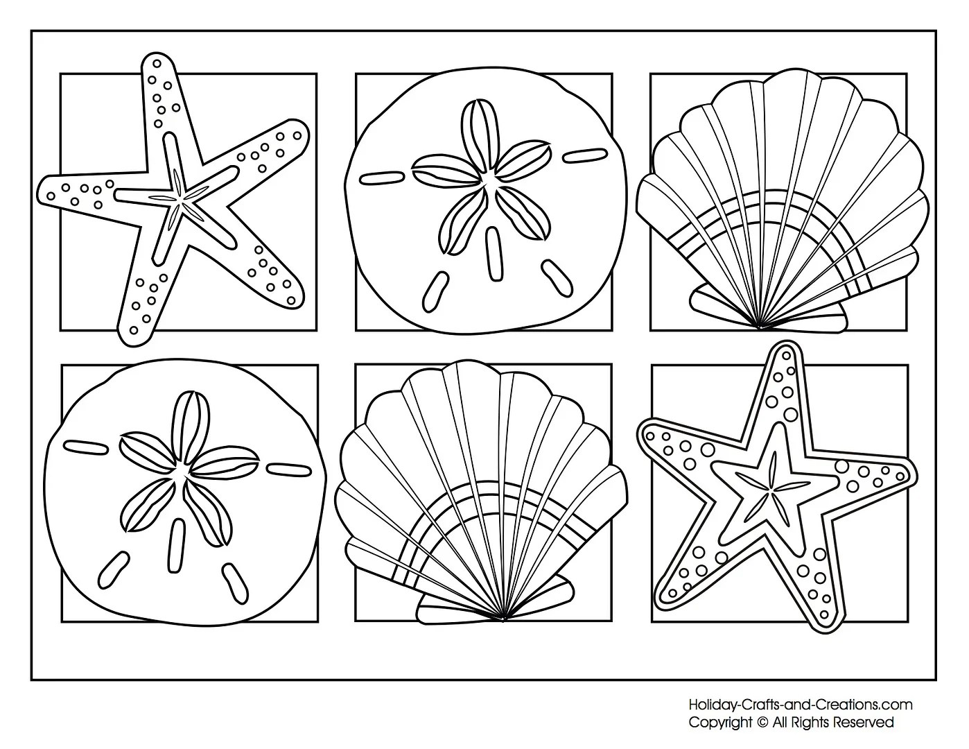 9 Cool Free Summer Coloring Pages For Kids