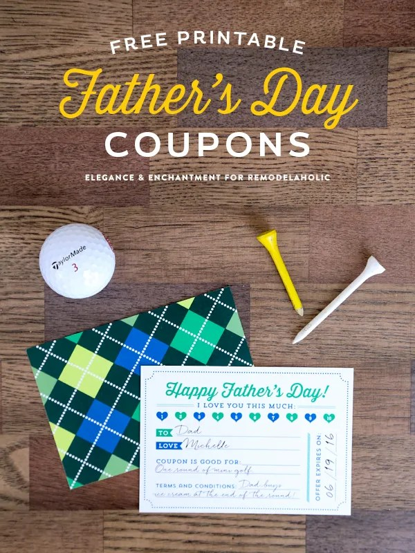 24 Wonderful DIY Fathers Day Gifts Crafts Printables