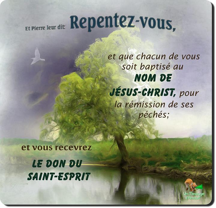 Repentez vous