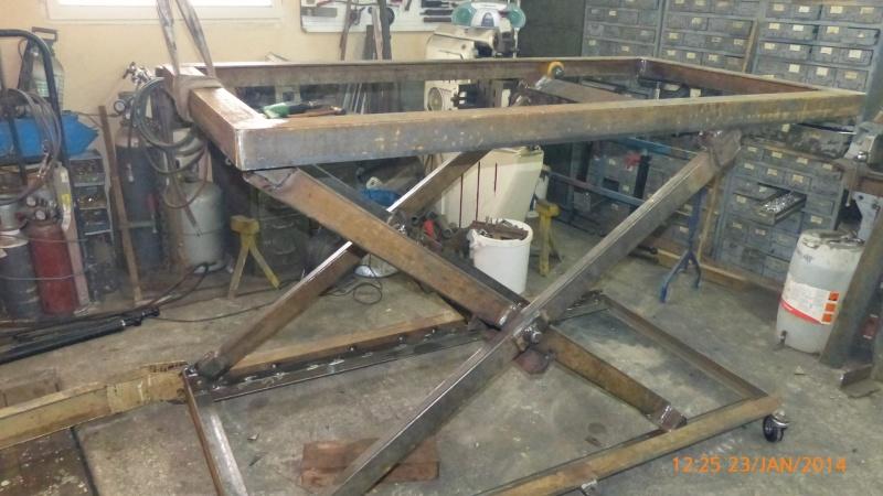 Fabrication Dune Table De Soudure Lvatrice