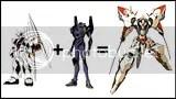 Nu Gundam + Eva-01 = Linebarrel