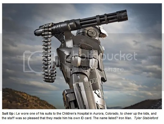 No Hoax, Armor Iron Man Bener-Bener Dibuat!!! (2/2)