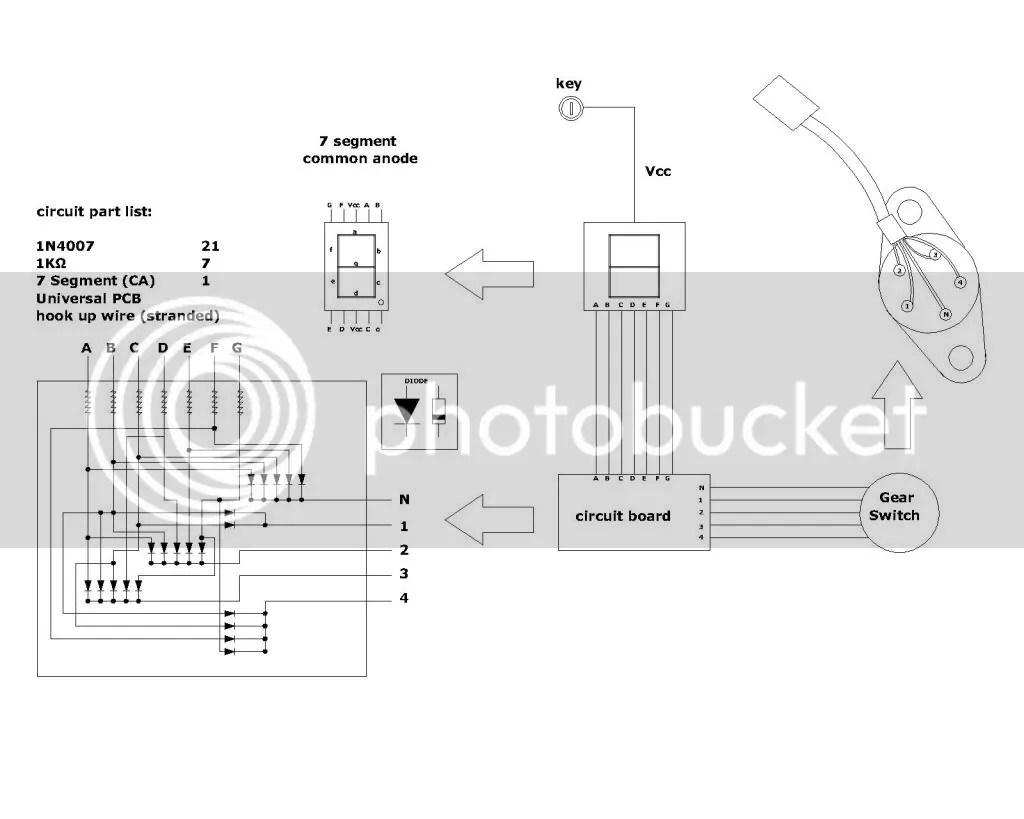 Project Gear Indicator Digi Tachometer