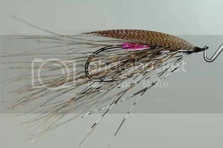 Black and Pink Sectional Spey