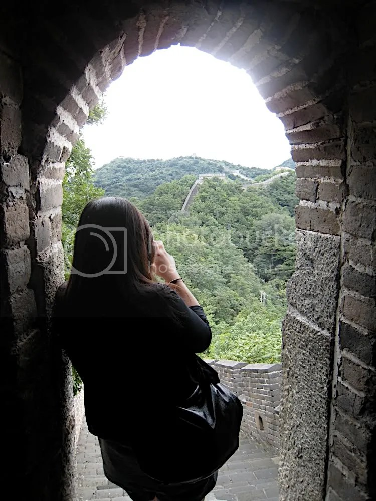 Photo of me on the Great Wall of China