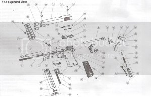 walther p22 parts diagram