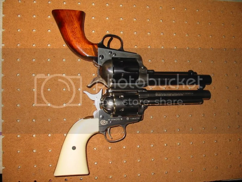 Another Comparison To The Uberti Saa Clone