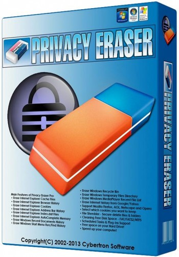 برنامج حماية الخصوصية وتنظيف الكمبيوتر Privacy Eraser Free 4.27.2.2374
