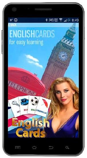 Английский язык с English Cards Free v.2.2 (Android)
