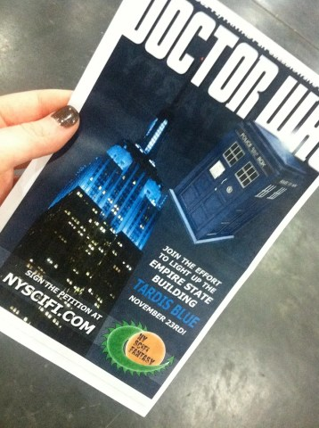 Doctor Who Empire State Buldg