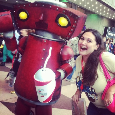 Kim and Bad Robot