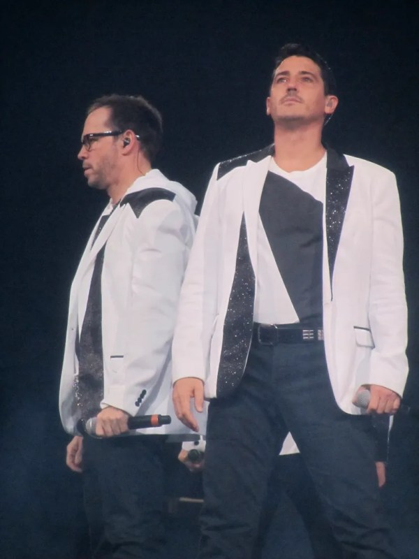 Donnie Wahlberg and Jon Knight The Package Tour