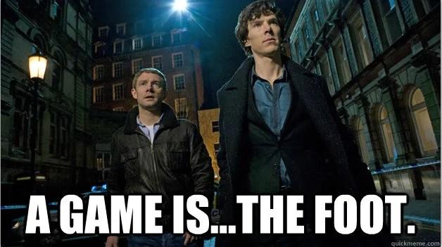 Sherlock A game