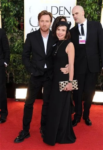 Ewan McGregor Golden Globes red carpet