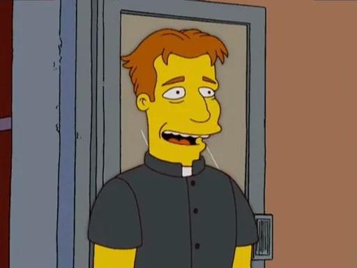 Simpsons priest