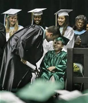 Ben Affleck Joe Kindregan Graduation