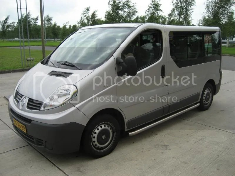The weird van we rode in the entire European tour